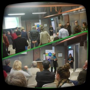 Ervaringsdeskundige en medewerker Terwille geven samen workshop ROER